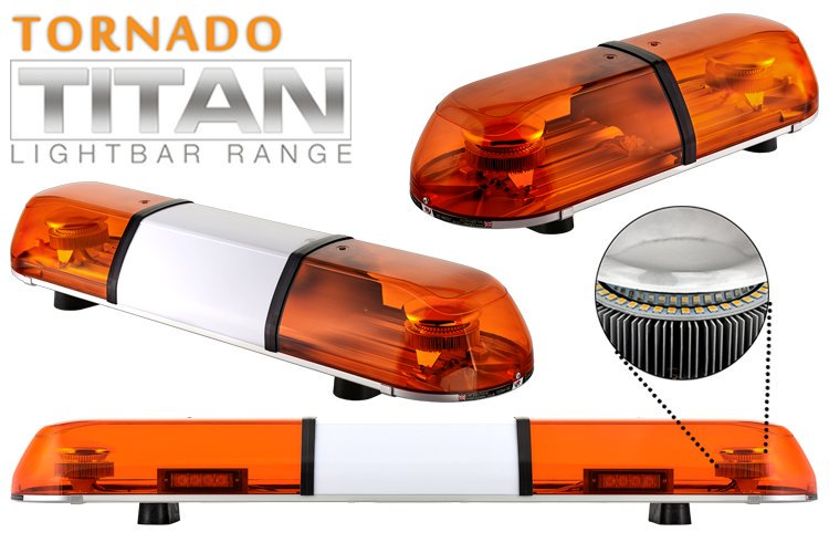 TORNADO TITAN REG65 LED Lightbar - LBT604 - 5'/1524mm - 4 LED Modules