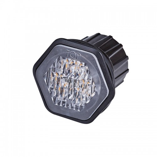 LED Auto R65 Approved Recess Mounted Warning Lamp HALED6DVAR65