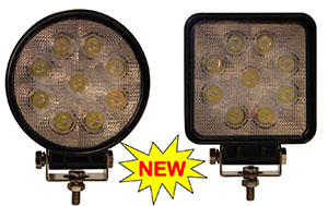 LAP279 LAP Work Lamp LED - Square or Round - Fixed or Magnetic LAPS279 or LAPR279