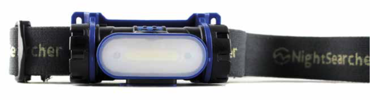 Night Searcher - Rechargeable Wide Beam Head Torch  NSLIGHTWAVE