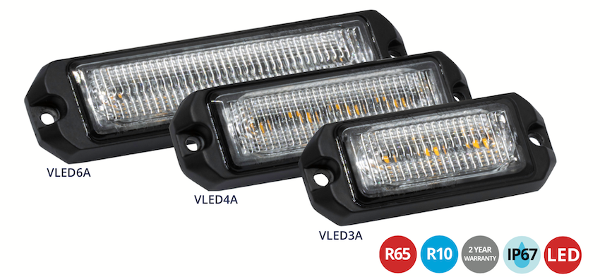 LAP VLED R65 Warning Light - VLED3A - VLED4A - VLED6A