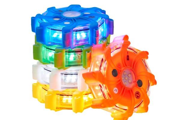 NSPULSARPRO Multi-mode Rechargeable Individual LED Hazard LED/Warning Light, Single - Nightsearcher