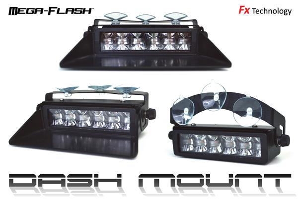 Redtronic Mega-Flash Dash/Deck Light - FX304 Single or Dual Colour
