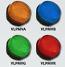 LAP LED Low Profile Beacons - VLPMV Range - 2 Point Fix, Amber, Blue. Red, Green