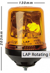 LAP121 12v Rotating Beacon - Pack of 10