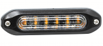LAP Slimline Amber Warning Light - SLED6A