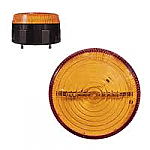 LAP LED Low Profile Beacons - LLP & LLT Range - 2 Point Fix, Amber or Red