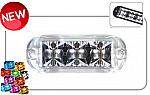 Redtronic Bullitt Mega Flash Grille Light - FX Series - BX31 Blue